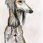The Saluki by Elle J Wilson