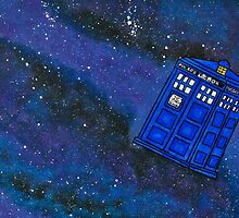 Police Box in Space by LaainStudios