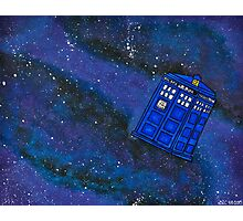 Police Box in Space Photographic Print