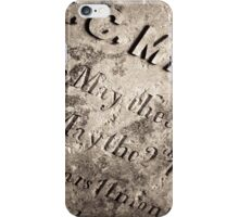 TCM - C.C. Mason Grave iPhone Case/Skin