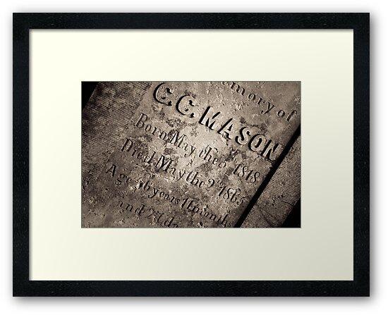 TCM - C.C. Mason Grave by Trish Mistric