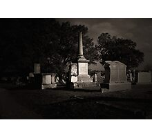 TCM - Bagdad Cemetery Photographic Print