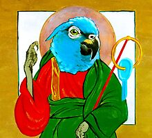 Saint Psittacine  by Cori Redford