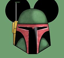 Boba Fett - Mickey Mouse Ears  by SimplySplendid