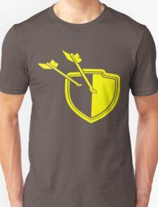 Clash of Clans Minimalist Shield Logo Unisex T-Shirt