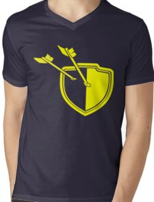 Clash of Clans Minimalist Shield Logo Mens V-Neck T-Shirt