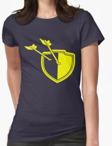 Clash of Clans Minimalist Shield Logo Womens Fitted T-Shirt