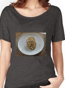 White Chocolate and Blueberry Luxury Cookies Women's Relaxed Fit T-Shirt