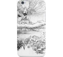 end of days sketch iPhone Case/Skin