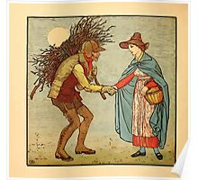 Walter Crane's Painting Book 1889 24 - The Leather Man Color Poster