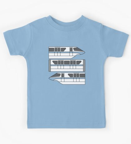 Color Changing Monorail Kids Tee