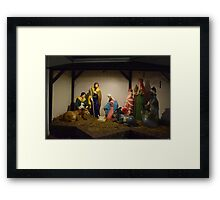 Nativity Scene Framed Print