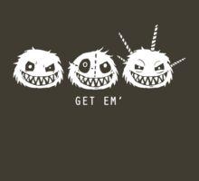 Fuzzle Get Em' Tee by joshyautumn