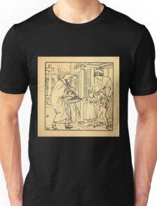 Walter Crane's Painting Book 1889 29 - Hot Cross Buns Lines Unisex T-Shirt