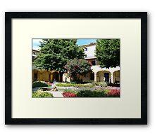 """""""Vincent's Garden"""" Framed Print"""