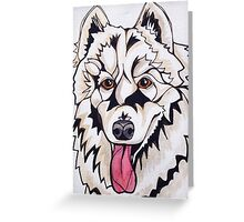 #4: CHLOE the Samoyed: Messages from the Dogs Oracle Deck Greeting Card