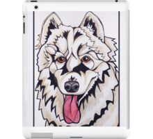 #4: CHLOE the Samoyed: Messages from the Dogs Oracle Deck iPad Case/Skin