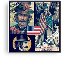 Gangs of New York.  Canvas Print