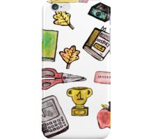 School Daze Print iPhone Case/Skin