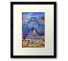 *Path Of Oblivion* Framed Print
