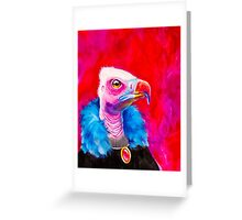 Victorian Vulture Greeting Card