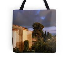 A thunderstorm is brewing Tote Bag