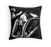 """Saddle to Stirrups"" Throw Pillow"