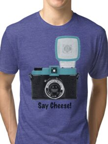 Say Cheese! Tri-blend T-Shirt