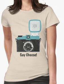 Say Cheese! Womens Fitted T-Shirt