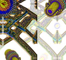 """Nanotubes Play in Aerographite Foam""© Sticker"