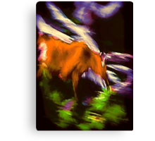 Speed Canvas Print