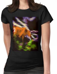 Speed Womens Fitted T-Shirt