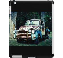 Patriotic Classic Chevy Truck  iPad Case/Skin