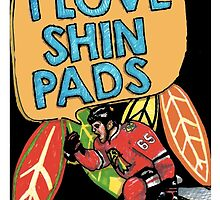 I love Shin Pads by melissapeterson