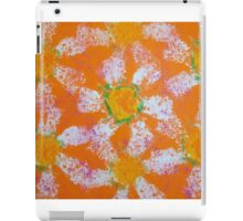 April Daisies on Orange by Holly Cannell iPad Case/Skin