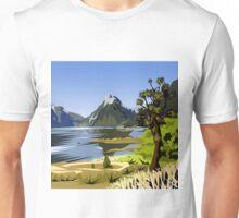 Mitre Peak, NZ Unisex T-Shirt