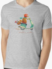 Adventure Awaits Mens V-Neck T-Shirt