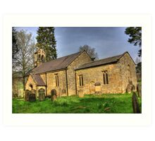 All Saints Church - Hawnby North Yorkshire #1 Art Print