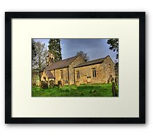 All Saints Church - Hawnby North Yorkshire #1 Framed Print