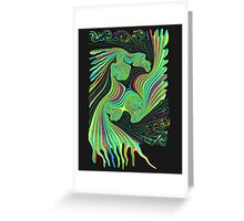 Double-Headed Dragon Greeting Card