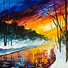 Winter Emotion — Buy Now Link - www.etsy.com/listing/230301690 by Leonid  Afremov