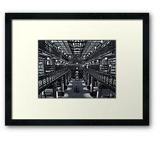 Mortlock Library Framed Print
