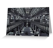 Mortlock Library Greeting Card