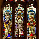 Window-All Saints Church-Hawnby by Trevor Kersley