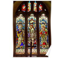 Window-All Saints Church-Hawnby Poster