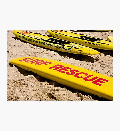 Rescue board Photographic Print