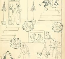 The Buckle My Shoe Picture Book by Walter Crane 1910 13 - Eleven Through Twenty Inner Cover by wetdryvac