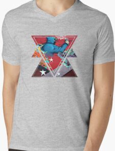 graffiti Mens V-Neck T-Shirt