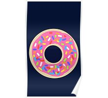 Donuts, Donuts & More Donuts Poster