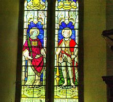 Window- All Saints Church - Hawnby #3 by Trevor Kersley